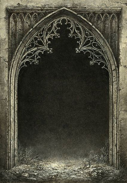 gothic style illustrations royalty  vector
