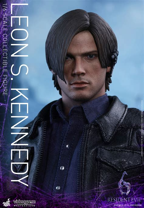 leon s resident evil 6 1 6th scale leon s kennedy plastic and plush