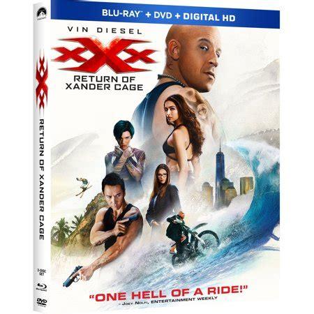 xxx  return  xander cage walmart exclusive blu