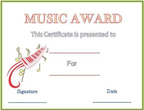 9 best images of award certificate template microsoft word