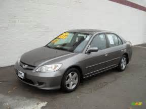 2005 magnesium metallic honda civic ex sedan 20615970