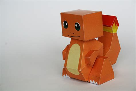 Charmander Papercraft - papercraft on behance