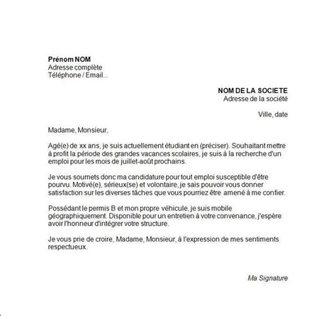 Lettre De Motivation Pour Visa En 1000 Ideas About Exemple Lettre De Motivation On Cover Letters Lettre De