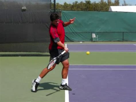 forehand swing path section 02 key points of the forward swing ftp
