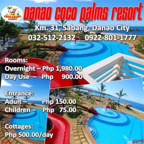 coco palms resort danao room rates danao coco palms resort danao city cebu