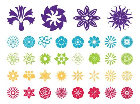 coloring pages free flower vector patterns free
