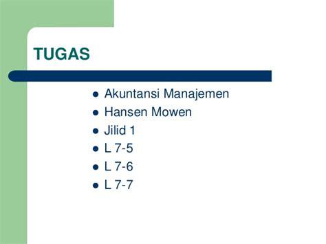 Akuntansi Manajerial Jld 1 Hansen Mowen 9 departementalisasi bop