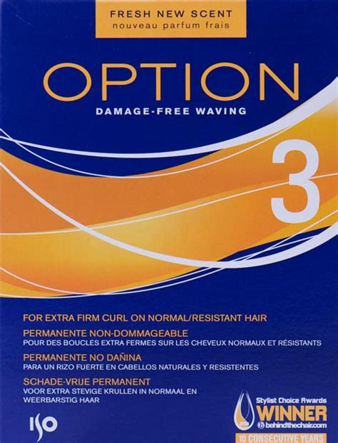 iso perm professional option perms option 3 iso option 3 perm pack curl hair perming lotion 11street