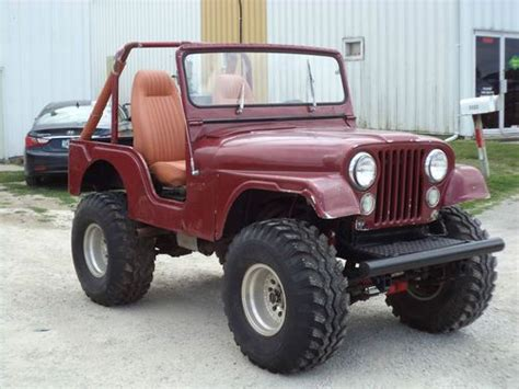 Used Jeeps For Sale In Iowa Find Used 1956 Cj 5 Willys Jeep In Iowa United