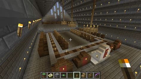 Minecraft Castle Dining Room Sky Castle Screenshots Show Your Creation Minecraft