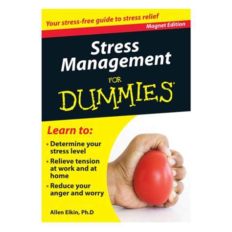 kitchen safety dummies stress management refrigerator magnet book for dummies