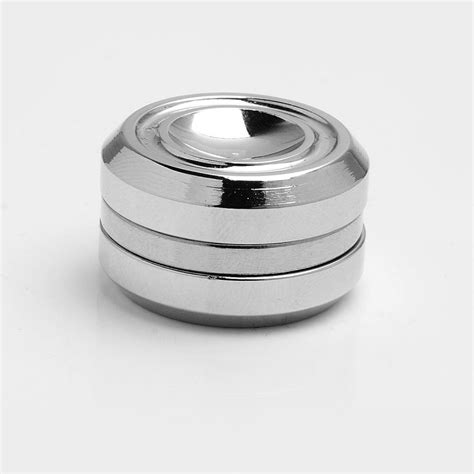 Fidget Spinner Stainless silver stainless steel orbiter magnetic fidget spinner