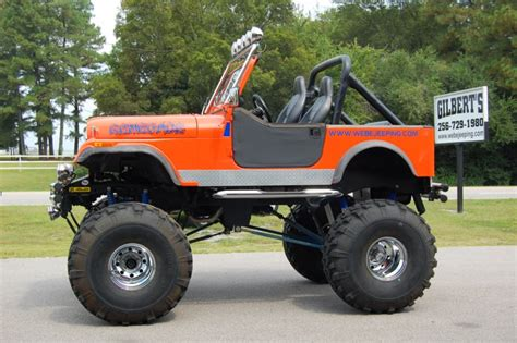 monster jeep cj 1986 monster cj 7 gilbert jeeps and 4x4 s