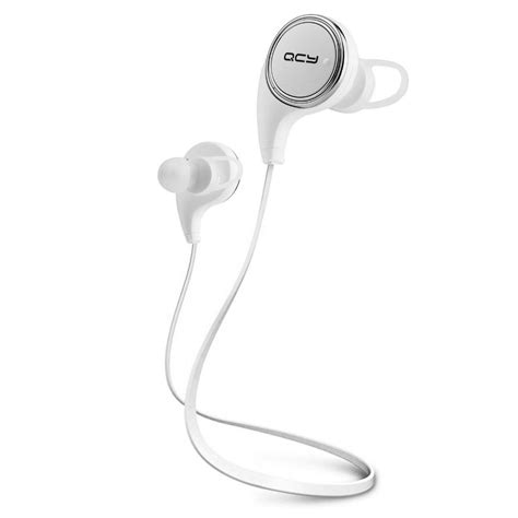 Bluetooth Earphone Olahraga Dengan Mic Qy7 Original new qcy qy8 bluetooth 4 1 portable headphone headset wireless sports stereo running earphone for