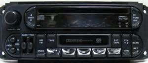 Chrysler Stereo A Guide To Chrysler Dodge Jeep Plymouth Stereo