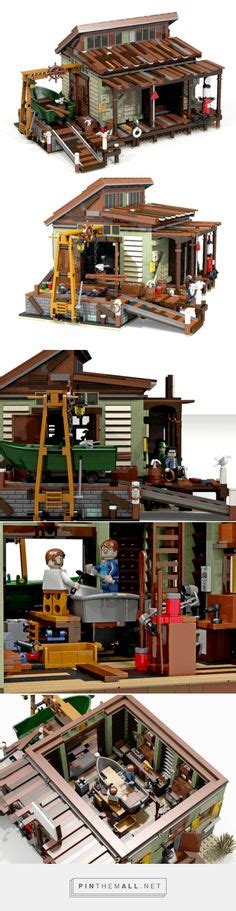 lego boat repair shop my love for lego on pinterest lego lego technic and