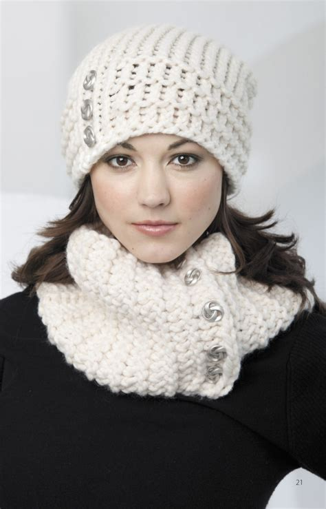 knitting patterns scarves hats loom knit hats scarves leisurearts com