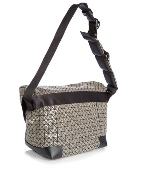 Handbag Bao Bao G172 Murah bao bao issey miyake triangular panels messenger bag in gray for lyst