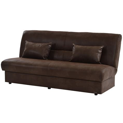 Futon Brown by Regata Brown Futon El Dorado Furniture