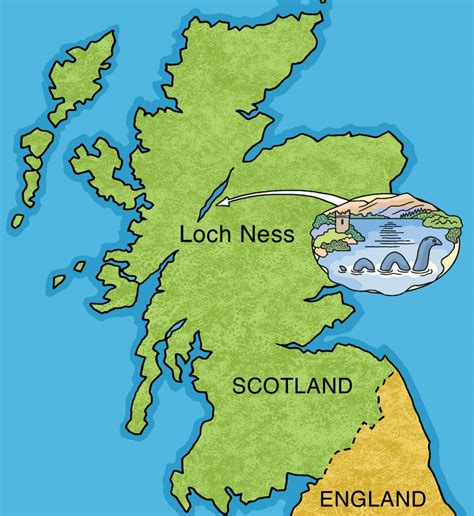 loch ness map loch ness smith s