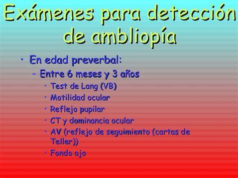 ambliopia test ambliopia