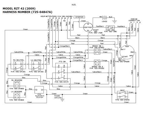 scag turf tiger wiring diagram wiring diagram with