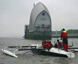 thames barrier challenge virgin gb row 2010 round britain rowing race the