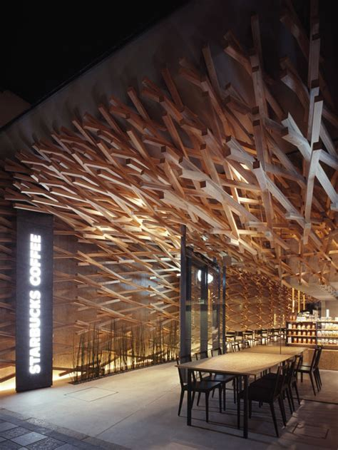 Chandelier Restaurant Dubai 太宰府天満宮のスタバが物凄いことになってる 隈研吾 Kengo Kuma Ddn Japan
