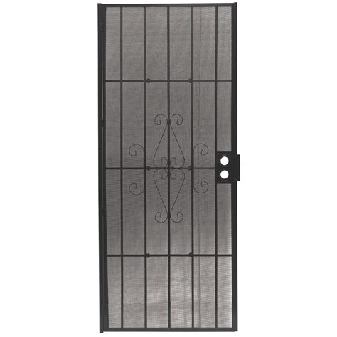 Patio Security Doors Lowes by Security Screen Doors Lowes Home Security Screen Doors