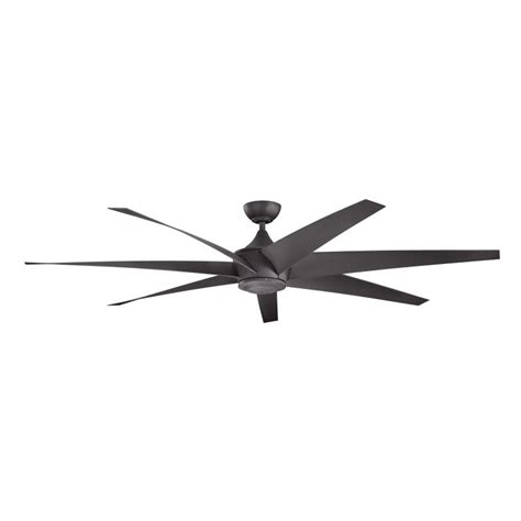 80 inch ceiling fans kichler 310115dbk lehr modern distressed black finish