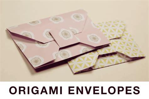 Origami Money Envelope - traditional origami envelope tutorial
