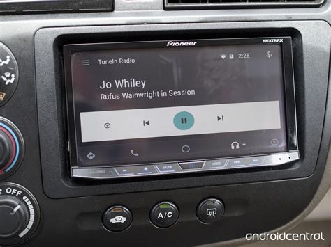 android radio tunein radio on android auto brings the world s sounds to your car android central
