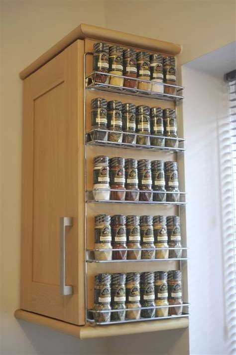 kitchen spice storage ideas 1000 ideas about spice racks on spice storage