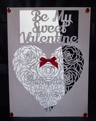 Be Mine Card Template by Svg Templates For Cricut