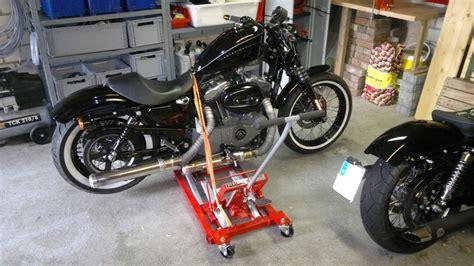 Motorrad Im Winter Aufbocken by Quot Rob 180 S Rod Quot Umbau Und Wartung Xl Nightster Seite 13
