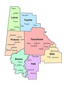 region map membership west alabama regional commission