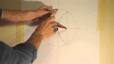 How To Make A 5 Point Out Of Paper - sacred geometry how to draw a five pointed