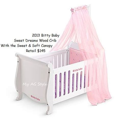 american bitty baby crib 17 best images about bitty baby furniture accessories by american doll on