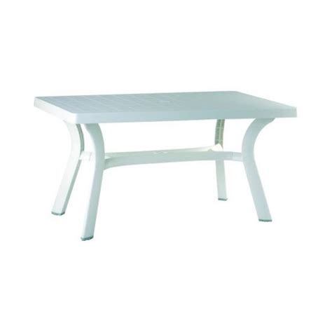 Resin Dining Tables Shop Compamia 31 In W X 55 In L Rectangle Resin Dining Table At Lowes