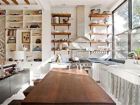 open shelving in a bright kitchen decoist modern concept kitchen shelving great kitchen with open