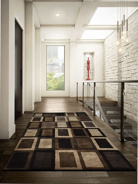 Modern Hallway Rugs Blackwood Rug In Hallway Contemporary Toronto By Alexanian Carpet Flooring