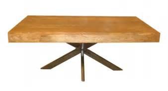 Superbe Table Basse Fer Et Bois #1: table-basse-design-metal-bois-manguier_1.jpg