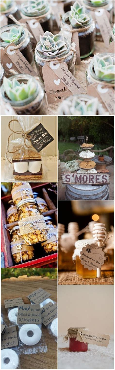 do it yourself wedding favors 30 rustic wedding theme ideas