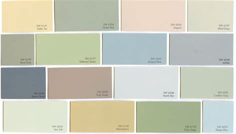 popular color palletes popular paint colors 2015