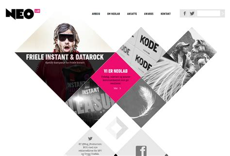 Home Studio Design Layout by 50 Awesome Websites With Extraordinary Geometry Elements