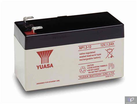 yuasa np1 2 12 12v 1 2ah batteries direct store
