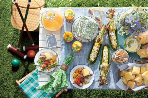 backyard cookout menu the prep ahead cookout menu southern living