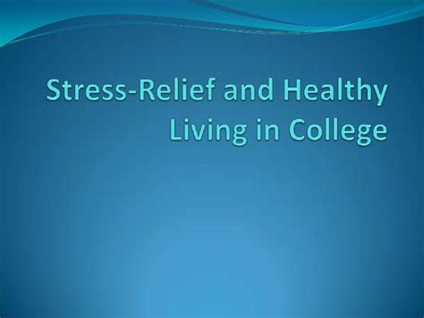 Stress Release Home Spa In Winter by Stress Relief In College