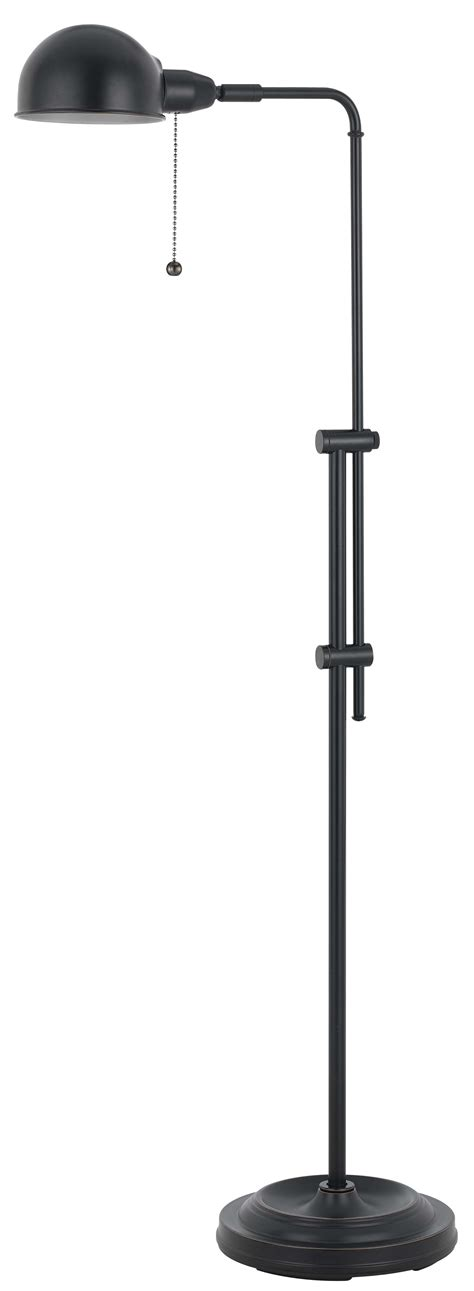pharmacy floor l with adjustable pole croby pharmacy w adjustable pole bronze metal l