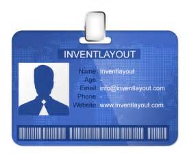 Id Badges Template by Id Badge Template Psd